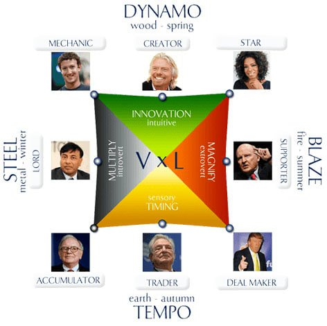 Wealth Dynamics Profile Test
