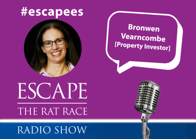 Escape the Rat Race  Radio – EP35-#Escapees – Bronwen Vearncombe