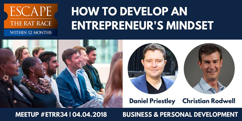 DANIEL PRIESTLEY [KEY PERSON OF INFLUENCE] 'HOW TO DEVELOP YOUR ENTREPRENEURIAL MINDSET'