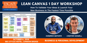 LEAN CANVAS 1 DAY october 6