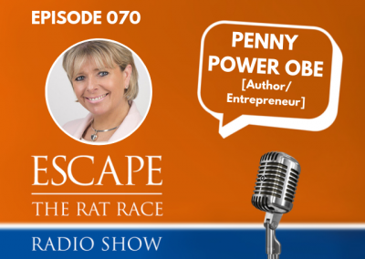 EP70: Emotional & Mental Health In Business Ownership, Penny Power OBE